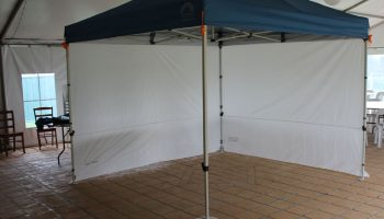 12. Gazebo Lightweight 3m x 3mt with weights