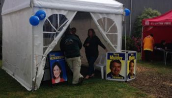 Liberal Party Marquee at Colac Show 2014