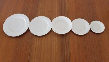Plate Range 305mm - 165mm