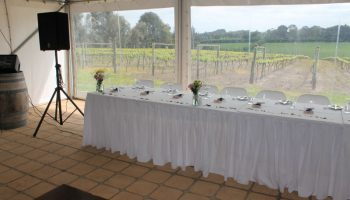 Bridal Table Skirt & Cloths